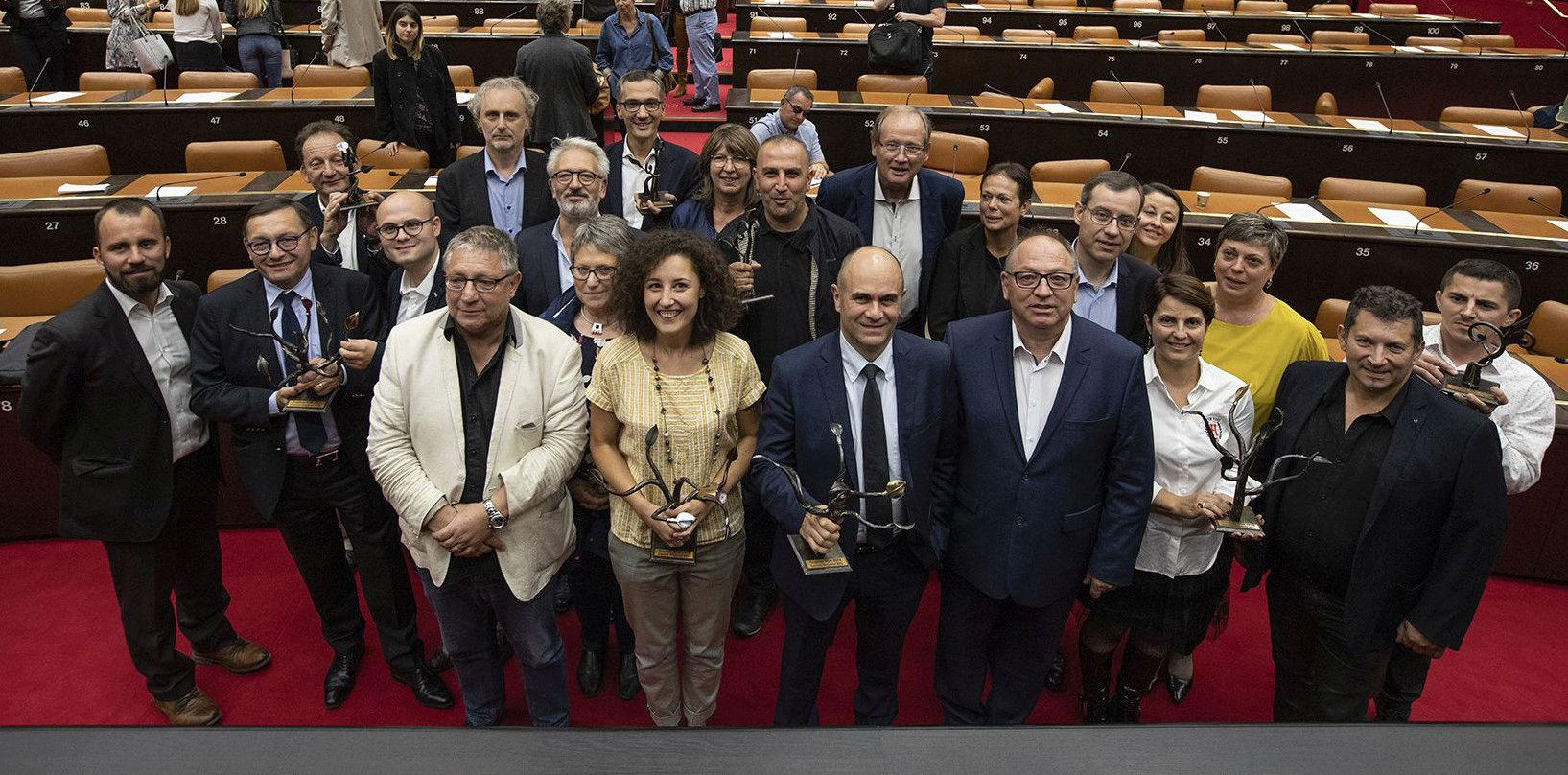 SIMON wins RSE (corporate social responsibility) award for Burgundy Franche Comté, 2018!