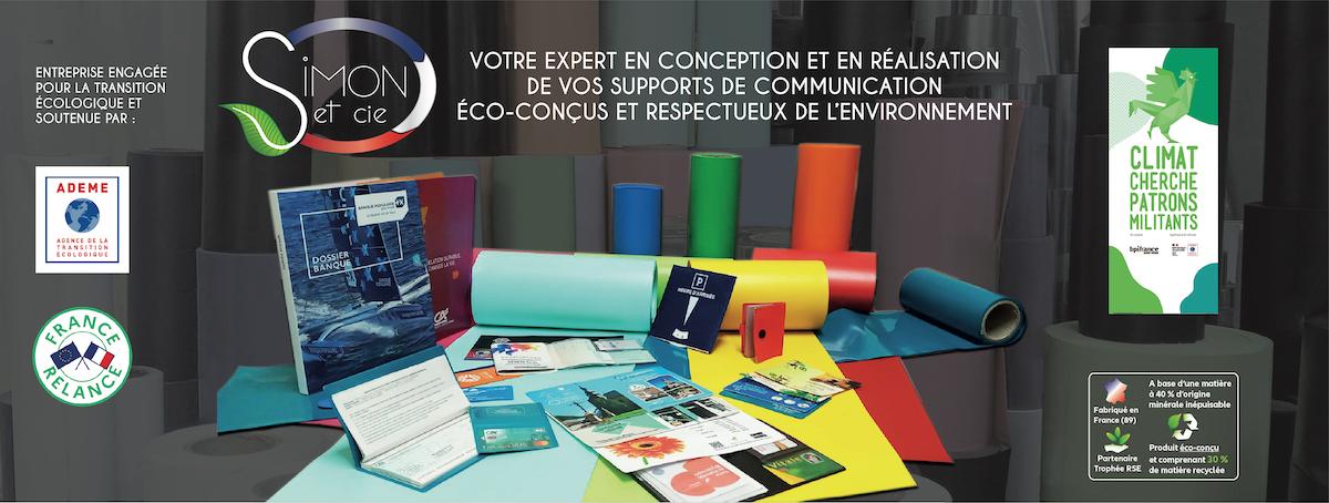 Simon & Cie - Expert en conception et réalisation de supports de communication